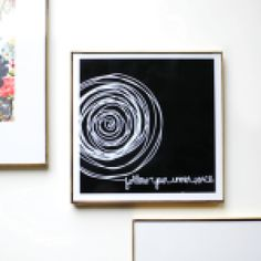 Find your inner voice with this inspirational black and white wall art from Pure Home.
