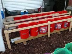 Self Watering Rain Gutter Grow System! in Hershey, Pennsylvania!