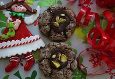 Chocolate Crinkle Thumbprint Cookies Recipe on Yummly. @yummly #recipe