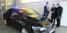 Skoda Octavia RS III TSi de la police en Flandres #voitures