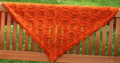 Bauble shawl: Knitty First Fall 2012