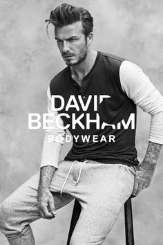 David Beckham launches a new Bodywear collection for spring. Introducing classic loungewear pieces with a sporty twist. | H&M For Men
