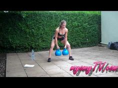 Girl does Men's Health SPARTACUS Workout