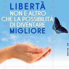 #Metamorphosya #BobProctor #libertà #migliorare #lafilosofiadelcambiamento