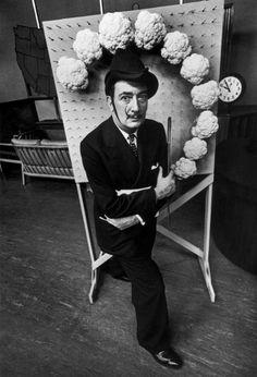 Philippe Halsman -Salvador DALI. NBC tv studios,1949