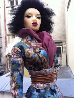 Lia Paris Bruxelles www.fashiondollagency.com Fashion Doll 16 inches