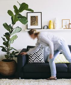 Adore spring issue : Behind the scene fiddle leaf hannah blackmore photography