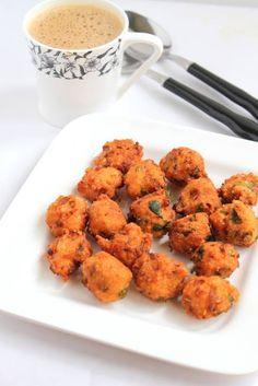 Spicy Lentil Fritters Kunukku