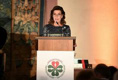 Princess Caroline of Hanover attends the AMADE Deutschland Charity dinner at Residence Museum on June 14, 2016 in Munich, Germany. In April 1993 Princess Caroline was appointed the President of AMADE Mondiale (Association Mondiale des Amis de l'Enfance) or (Worldwide Association of Children's Friends), Princess Grace created this charitable organization in 1963 to protect children from physical and psychological abuse.