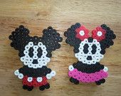 Mickey and Minnie Mouse magnets