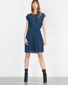 PLEATED DRESS-View all-Dresses-WOMAN | ZARA United States