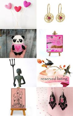 Pink Sunday by Georgia on Etsy--Pinned with TreasuryPin.com