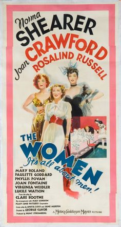 THE WOMEN (1939) ...and like The Wizard of Oz, there is a wonderful color sequence used to great effect.
