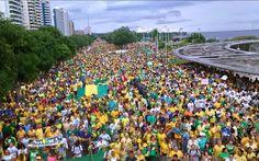 Amazonas; manaus; manifestação manaus; manifestação dilma