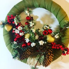 A personal favorite from my Etsy shop https://www.etsy.com/listing/484105772/mermaid-holiday-wreath-with-gold