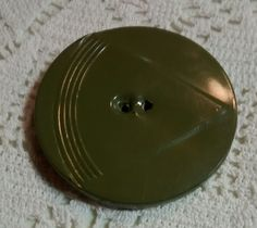 Vintage Celluloid Wrap Button by BygoneButtonBoutique on Etsy