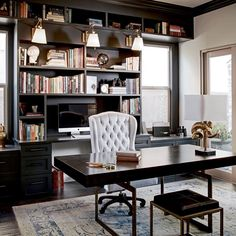 Etonnant Best Home Office Decor Ideas For Gentlemen
