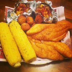 Saturday night fish fry!