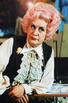 """Mrs Slocombe Are You Being Served. Her favorite line """" Weak as water"""" the tv sitcom was centered round a department store background where five employees do the quirky funny normal things real people do under day to day employment British Tv Comedies, Classic Comedies, British Comedy, British Actors, English Comedy, Bbc, Are You Being Served, British Humor, Uk Tv"""