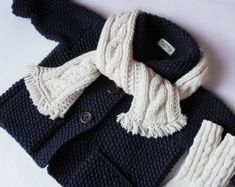 Giacca lana maglia bambino cappotto con cappuccio per bambini