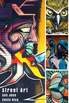 If you happen to walk through the University toward the UCR train station, there is a block of buildings that anyone who appreciates street art should check. It is located between Calles 3 and 5 and easily could be dubbed as a street art gallery.