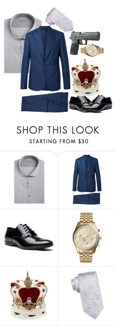 """""""Jim Moriarty, Consulting Criminal"""" by baritone-roe on Polyvore featuring Calvin Klein, Vivienne Westwood, Versace, Michael Kors, Vittorio Ceccoli, Countess Mara, men's fashion and menswear"""