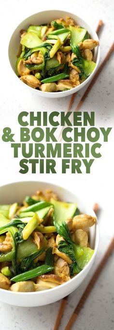 Here is a Chicken and Bok Choy Turmeric Stir Fry recipe that tastes good and is good for you. It's a healthy, quick and AIP-friendly Asian dish. This recipe is allergy friendly (gluten, dairy, shellfish, nut, egg, and soy free) and suits the autoimmune protocol diet (AIP), and paleo diets.