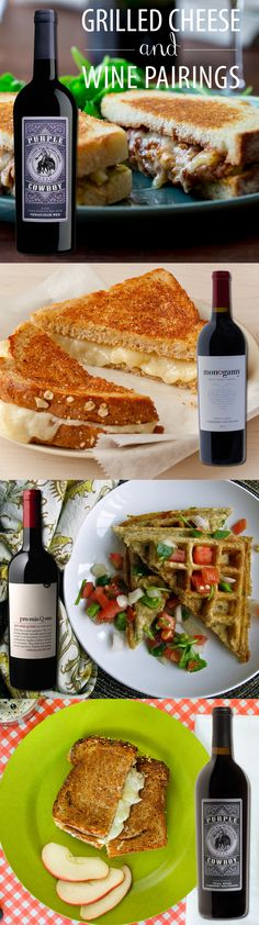 Grilled cheese can be fine dining - or just fun dining - with the right wine pairing. We've worked with our friends at @winesisterhood to put together the perfect wine & grilled cheese pairing guide. Now all you need to do is gather the ingredients, a few friends, and enjoy yourselves!