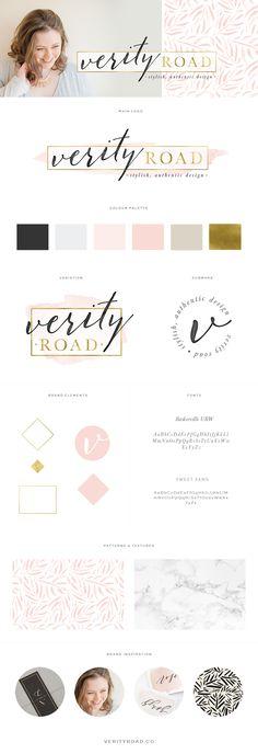 Brand & Web Design: Verity Road - Luxury Brand Styling for Female Entrepreneurs