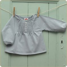 Organic School blouse - little frenchy