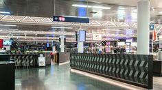 Nulty - Keflavik International Airport, Iceland - Lighting Design Food Beverage Area Travel Terminal