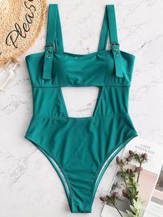 86f06033531 ZAFUL High Leg Cut Out Swimsuit Cut Out Swimsuits, One Piece Swimwear, Bikini  Swimwear