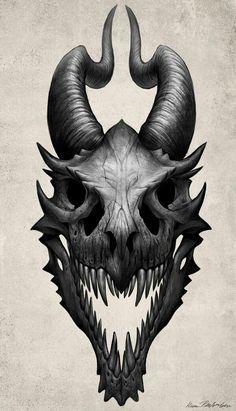 Dragon skull; Dragons