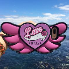 Gorgeous new design to our ENFILL Angel Heart series. Don't forget to get our Happy Strap to go with this beauty! Counting down: 3 days till the end of our Summer Sale! . . #candiesgifts #ENFILL #AngelHeart #iphonecase #iphone7plus #accessories #love #iphone7