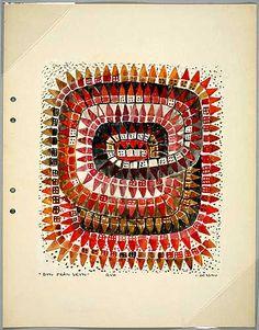 Skiss matta by Ingrid Dessau (1923-2000)