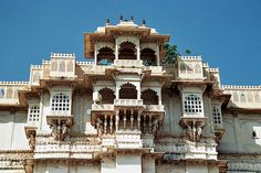 Udaipur city palace  Udaipur, Rajasthan. India