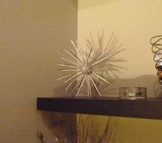 Design & Home Decor: How to create a gorgeous mid-century modern sculpture for next to nothing!