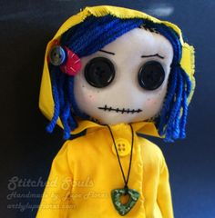 real cora rag doll - typically dolls creep me out, but cora is so cute