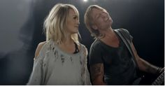 Take a look at Keith Urban's irresistible new music video with Carrie Underwood | Rare