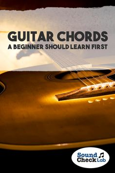 Here are some of the most basic and easy guitar chords that a beginner should learn how to play before advancing to the next level. Easy Guitar Chords, Guitar Songs, Guitar Reviews, Teaching Channel, Dramatic Play Centers, Digital Piano, Free Sheet Music, Singing Tips, Play Centre