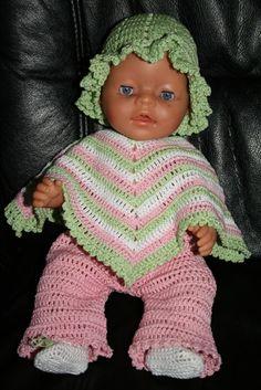 Hekla dukkeklær - mønster fra Sandnes