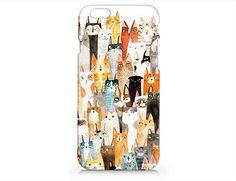 Amazon.com: Iphone Case, Iphone 6 case,Cat Pattern Hard Cover Case For Apple Iphone: Cell Phones & Accessories