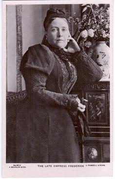 The late Empress Frederick (nee Princess Victoria, Princess Royal).