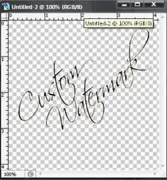 Tutorial on how to create a custom watermark for your photos