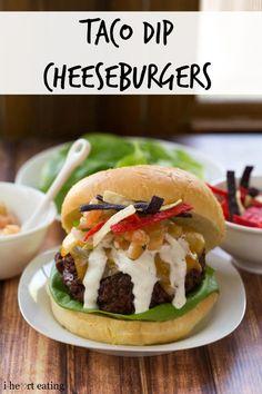 Taco Dip Cheeseburger Recipe
