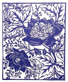 Emily Cantrill Design Hand cut paper cuts