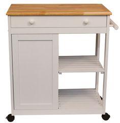 Amazon.com - Catskill Craftsmen Preston Hollow Kitchen Cart - Serving Carts