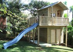 The ideal solution cubby house for kids and garden shed for storage.