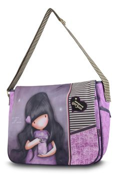 10% OFF Your First Order, FREE UK Delivery. www.schoolbagstation.com Gorjuss Messenger Bag - We Can All Shine