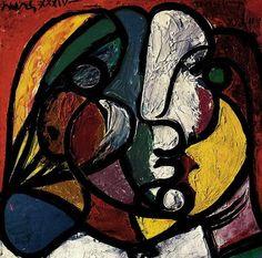 pablo picasso - potrait de marie-therese (1937)